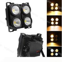 LED Effets LED Blinder lumières 4X100W Matrice COB Public Contexte lumières studio scène éclairage Par DMX Théâtre Disco Effet DHL