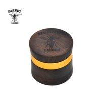 Hornet Premium Rasewood Handmade Tobacco Herb Truber 60 мм 4 слоя алюминиевые острые алмазные зубы курить травяной мельницы