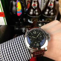47mm * 16mm PAMLeather Montres en acier inoxydable 316L pour les couleurs Man automatique PAM 2 2020 Montres-bracelets nouvelle design1