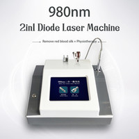 Facial 980nm beleza máquina Diode Laser veias da aranha Vaso sanguíneo Remoção Terapia Spa Salon Beauty Equipment Vascular Removal Machine
