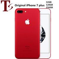 Refurbished Original Apple iPhone 7 Plus 5.5 inch Fingerprint iOS 10 Quad Core 3GB RAM 32 128 256GB ROM 12MP Unlocked 4G LTE