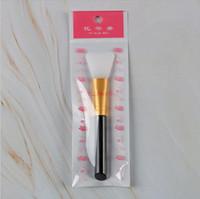 Trucco Maschera pennello in silicone pennello viso trucco dell'occhio del gel di silice Mask pennelli cosmetici Beauty Tools