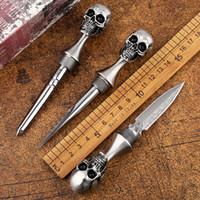 lama del regalo manuale strumento di strumento di sopravvivenza lama M390 EDC alta qualità BENCHMADE BM cranio tè lama fissa di Natale degli uomini
