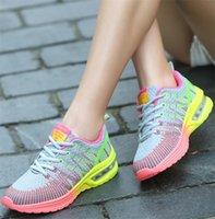 Высокое качество Дешевые Новый больших размеров женские кроссовки 41 летние дышащая дикое 42 ярдов Lightw восемь моды случайные обувь оптом Schoenen