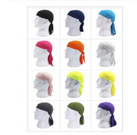 Quick Dry Pure Cycling Cap Head Scarf Summer Men Running Rid...