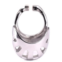 Male Penis Rings for Cock Cage Stainless Steel Arc Cockring ...