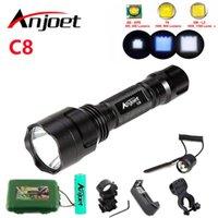Комплект тактических CREE XML T6 Q5 L2 LED 1198LM Алюминиевый факелы лампа аккумуляторная батарея 18650 для кемпинга Пешие прогулки Велоспорт