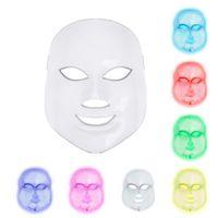 New coreano fotodinamica LED Maschera per il viso di uso della casa dello strumento di bellezza anti acne pelle Maschera ringiovanimento LED fotodinamica Beauty Face