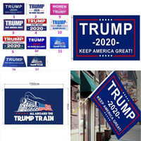 Donald Flag Party Supplies Flag Wahl USA-Flaggen Trump 2020 90 * 150cm Banner Amerika Wieder Donald Trump For President Banner Dekor WSGbR