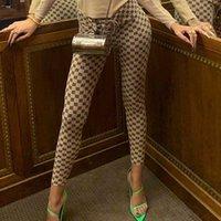 Les femmes Leggings misbhv 2020 Lettre Pantalons Mode d'été Imprimer Pantalon sexy élastique long Polyester Hip Hop froncé Gothique Legging