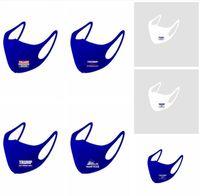 Máscara Trump 2020 Máscaras Elección Trump hielo de seda impedir que las mascarillas América grande otra vez la boca cubierta anti de la fiesta de la cubierta de la contaminación de polvo Boca Cara LSK576