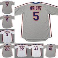 Nova Iorque 5 David Wright 7 Jose Reyes 9 Gregg Jefferies 41 Tom Seaver 29 Frank Viola 22 Ray Knight 13 Lee Mazzili StAub Baseball Jersey