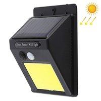 48 LED COB المصابيح الشمسية في الهواء الطلق للماء الحركة الشمسية الاستشعار الجدار الخفيفة الإضاءة الأمن مع من السهل تثبيت لفناء الفناء