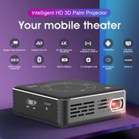 3D جهاز العرض، Android 9.0 WiFi Bluetooth. فك تشفير 4K، Active 3D.touch Portable DLP العارض السينما. نادي رياضي. 3000 مللي أمبير بطارية كبيرة C99