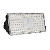 El brillo estupendo 100W blanco cálido llevó la lámpara del panel Construcción de Carreteras del sitio Estacionamiento Estadio Generación luces de inundación del módulo LED