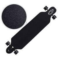 Длинная наждачная наждачная бумага Professional Black Skateboard Scept наждачная бумага для катания на коньках Доска Longboarding Emery Road