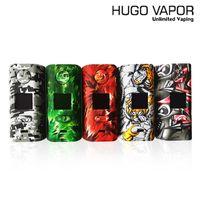 "Hugo Buhar Rader ECO 200W Modu Dual 18650 Pillerle Powered 0.96 ""inç Kare OLED Ekran Diaplays% 100 Orijinal"