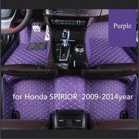 Портной сделал автомобиль коврик водонепроницаемый материал кожа PU, подходит для Honda SPIRIOR 2009-2014year