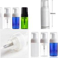 100ml Bottiglie vuote Pompa schiuma plastica Viaggi Separare imbottigliamenti Hand Sanitizer bottiglia vuota semplice Cosmeti Container 1 76rx E2