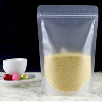 100pcs bereifte freien Plastikbeutel Reißverschluss-Verschluss-Verpackungs-Beutel Fastfood- Beutel Resealable Zipper Lebensmittel Kaffee Speicher Geschenk Verpackung Beutel