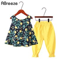 Clothing Sets Summer Toddler Girls Clothes 2pcs Outfits Kids...
