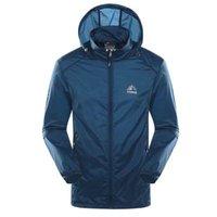 Giacca da esternoShoodies impermeabile sole protezione UV cappotti per uomo donne Giacca da escursione a secco a secco Caccia campeggio sportivo pesca pelle giacche