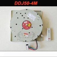 DDJ50 50 kg 4M cable alejado auto-controlado de elevación del alzamiento de la lámpara de iluminación de elevación elevador eléctrico del torno de luz Sistema de motor de la lámpara