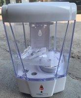 를 700ml 자동 비누 디스펜서 벽 마운트 센서 액체 스프레이 비누 디스펜서 비접촉식 소독제 비누 액체 드립 디스펜서 GGA3614-2