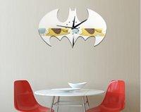 2020 heißen Verkauf Wanduhr Gz001 neue Batman-3D Acryl Wanduhr Wohnzimmer Schlafzimmer Hintergrund Wanddekoration