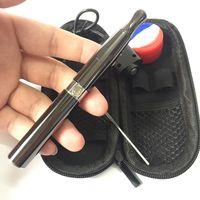 poêle cire stylo vape fumer stylos vapeur kits ego démarrage avec outil de dab cire pot de silicone huile cireuse fumer Free Burner DHL