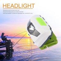 ICOCO LED Stirnlampe Scheinwerfer-Lampe Camping Induktions-Scheinwerfer Batterie für Camping Wandern Powered Angeln Außen