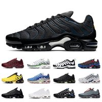 Nike Air max tn plus se Navy Hues Toggle Lacing TN Plus SE Chaussures De Course Pour Hommes Des Chaussures Tns 3 Volt Glow Trainers Team Red Parachute Hommes Baskets De Sport shoes