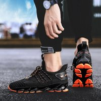Men Running Shoes Cool Youth Outdoor Sneakers Breathable Mes...