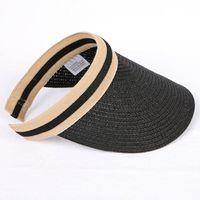 Hot nuova spiaggia estiva all'aperto semplice stilista popolare di lusso di moda intrecciato protezioni casuali sfera cappelli da baseball per le donne