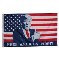 ترامب العلم 90 * 150 رئيس الولايات المتحدة الأمريكية الرئيس العلم انتخابات 2020 الاحتفاظ أمريكا الأولى راية أعلام ترامب الانتخابات راية ديكور GGA3603-2