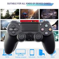 Frete Grátis para Sony PS4 Controlador Bluetooth Vibration Gamepad Para Playstation 4 Joystick sem fio Detroit