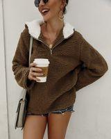 디자이너 모피는 팜므 가을 겨울 두꺼운 여성 패션 스웨터 숄 최고 랩 울 카디건 숄 코트 자켓 따뜻한 스웨터 외투의 일종 옷
