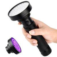 lâmpada de 15W 395nm ultravioleta UV Led Scorpion lâmpada 1 Modo de Inspeção 6 Trabalho Luz Spotlight Linterna de mano lanterne