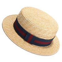 Chapéu de palha do verão Bacia do arco chapéus liso alto chapéu chapéu de sol mulheres designer borda chapéus Atacado