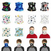 Máscara crianças enfrentam Crianças lavável reutilizável máscara protetora exterior Desporto Ciclismo Magia Cachecol Bandana Bandana Bandanas Turban ZZA2473
