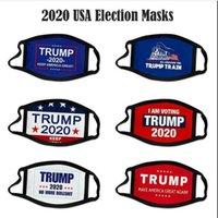 nova eleição Designer Máscaras Trump cara Cotton Mantenha Máscaras América Great Again Cosplay Biden Partido Anti poeira lavável respirável cobrir a boca