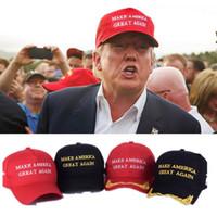 Göra amerika bra igen hatt donald trump republikanska snapback sport hattar baseball mössor USA flagga mens kvinna mode cap fy6079