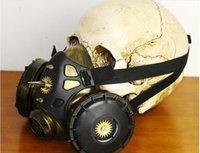 2020 NEUE Ankunft billig Hot Verkauf Steampunk Gas Halloween Kostümball Festival Partei liefert Maske Cosplay Requisiten Geschenke Maske