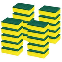 Heavy Duty Multiusos Esponjas de limpieza frotar no cero Borrador mágico de la esponja de fregado del plato Esponjas uso de cocinas / Baño DHA465