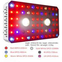 Grow Lights New waterproof design 1000w COB full spectrum dual chip light source UV IR plant growth lamp indoor medicinal plant planting