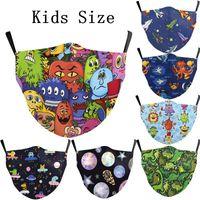 Children Jurrasic Mouth Protection Face Planet Reusable Plan...