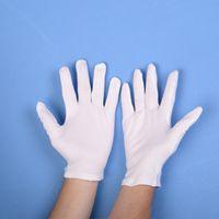 erkek dişi Garsonlar sürücüleri Takı açık emek koruma malzemeleri Eldiven eldivenler CYF4268 için Beyaz Pamuk Tören eldivenler