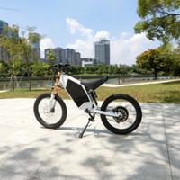 Yüksek Güçlü Dağ Cross-Country Elektrikli Motosiklet Enduro Bike 72V3000W5000W8000W Rahat Ebike Bombacısı