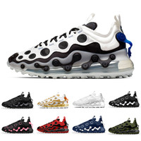 max 720 ISPA Cow Black Reflect Silver 720 ISPA Mens Running Shoes Summit White Zapatos Metallic 720s Men Women Trainers Sports Sneakers des chaussures