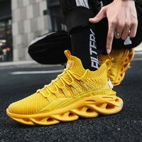 Characteristic Twist Sole Men's Running Shoes Flying Woven Breathable Comfortable Men's Shoes Personality Fashion Wild Men